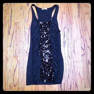 Gorgeous Holiday Arden B Sequin Mini Dress